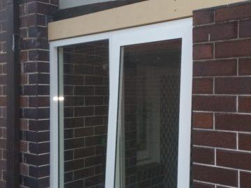 window installation outside
